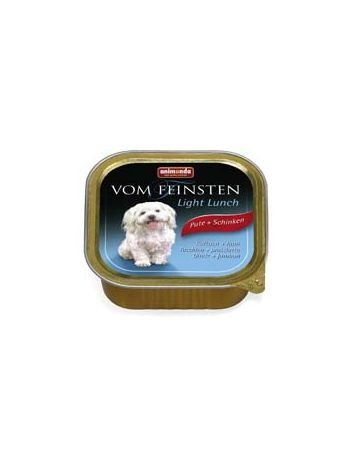 ANIMONDA VOM FEINSTEN LIGHT INDYK + SZYNKA - 8x150G
