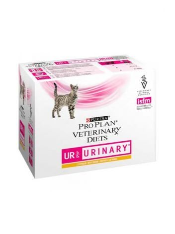 PURINA CAT VETERINARY DIETS UR - URINARY CHICKEN - 20x85G