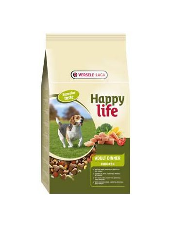 BENTO KRONEN HAPPY LIFE ADULT CHICKEN - 15KG