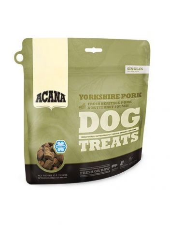 ACANA SINGLES TREATS DOG YORKSHIRE PORK 35G