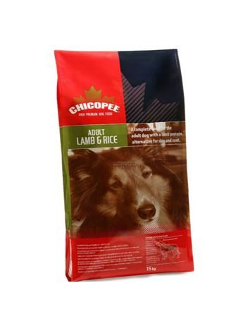 CHICOPEE ADULT LAMB & RICE - 15KG