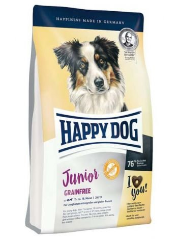 HAPPY DOG JUNIOR GRAINFREE - 10KG