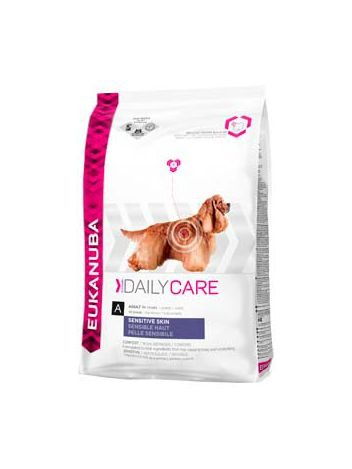 EUKANUBA DAILY CARE SENSITIVE SKIN - 24KG (12KGx2)