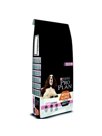 PURINA PRO PLAN ADULT MEDIUM & LARGE 7+ SENSITIVE SKIN - 28KG (14KGx2)