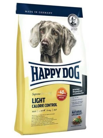 HAPPY DOG FIT & WELL LIGHT CALORIE - 12,5KG