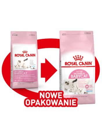 ROYAL CANIN MOTHER & BABYCAT - 400G + 400G