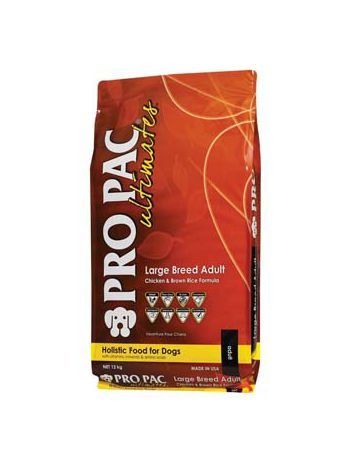 PRO PAC ULTIMATES LARGE BREED ADULT - 24KG (12KGx2) + PROBAR GRATIS!