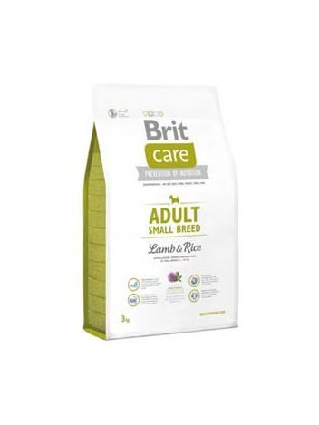 BRIT CARE ADULT SMALL BREED LAMB & RICE - 7,5KG