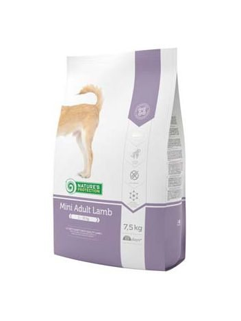 NATURE'S PROTECTION MINI ADULT LAMB - 15KG (7,5KGx2)