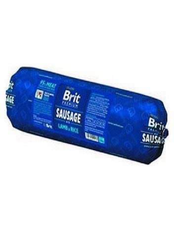 BRIT PREMIUM MEAT SAUSAGE WITH LAMB&RICE 800G