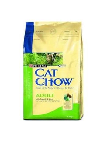 PURINA CAT CHOW ADULT RABBIT & LIVER - 15KG