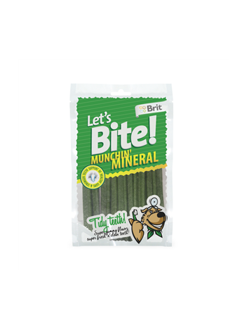 LETS BITE N DOG MUNCHIN MINERAL - 105G
