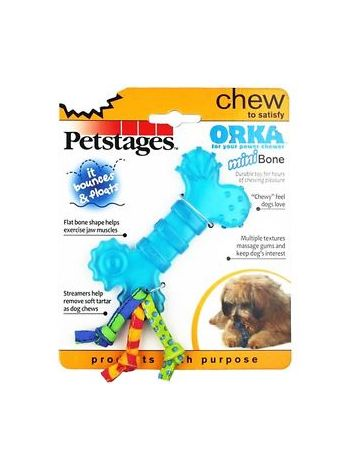 PETSTAGES ORKA MINI BONE