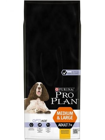 PURINA PRO PLAN ADULT MEDIUM & LARGE 7+ CHICKEN - 28KG (14KGx2)