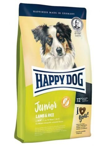 HAPPY DOG JUNIOR JAGNIĘCINA I RYŻ - 10KG