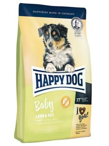 HAPPY DOG BABY JAGNIĘCINA I RYŻ - 10KG