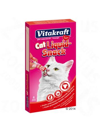 VITAKRAFT CAT LIQUID SNACK RIND - 6x15G