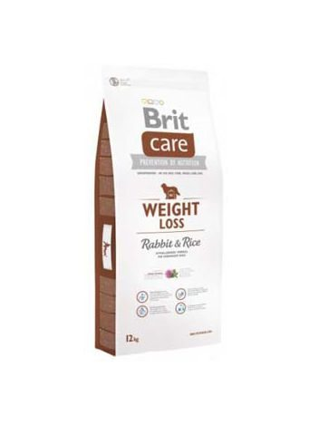 BRIT CARE WEIGHT LOSS RABBIT & RICE - 24KG (12KGx2)