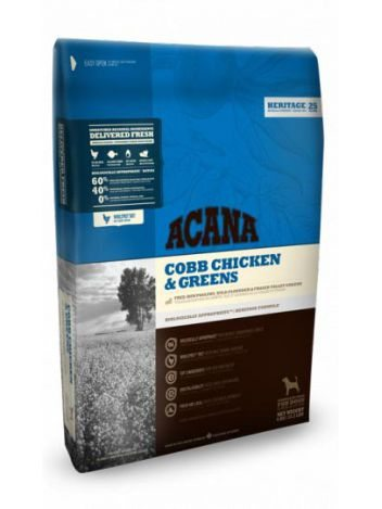 ACANA ADULT CHICKEN & GREENS - 34KG (17KGx2)