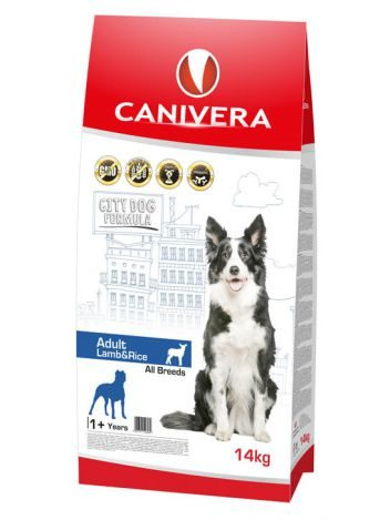 CANIVERA ADULT LAMB & RICE ALL BREEDS - 14KG + 3KG!