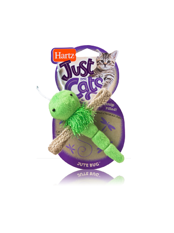 HARTZ ZABAWKA JUTE BUG WITH CATNIP