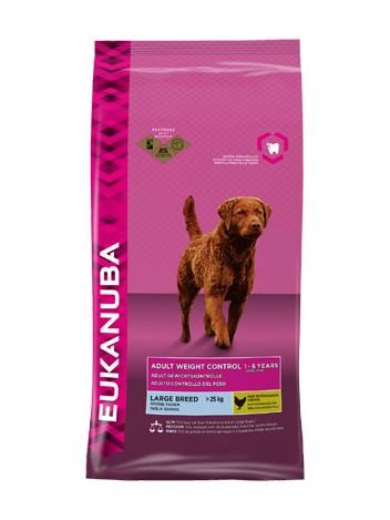 EUKANUBA ADULT LARGE WEIGHT CONTROL - 30KG (15KGx2)