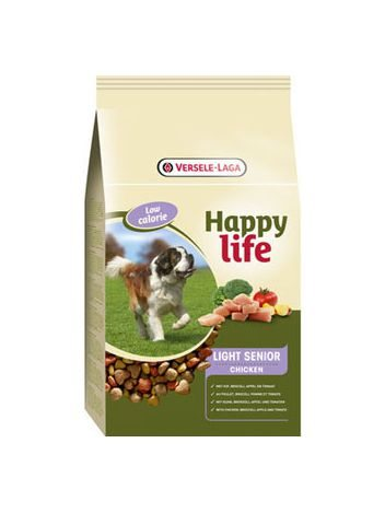 BENTO KRONEN HAPPY LIFE LIGHT/SENIOR CHICKEN - 15KG