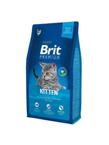 BRIT PREMIUM CAT KITTEN CHICKEN WITH SALMON - 8KG
