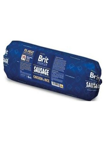 BRIT PREMIUM MEAT SAUSAGE WITH TURKEY&RICE 800G