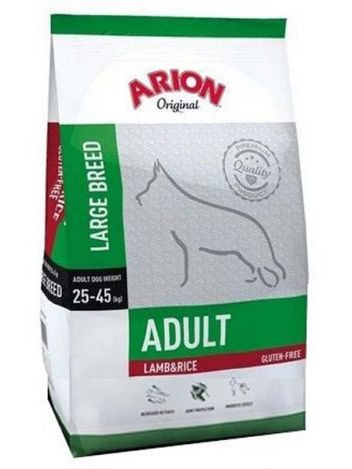 ARION ORIGINAL ADULT LARGE LAMB & RICE - 24KG (12KGx2) + PRO BAR
