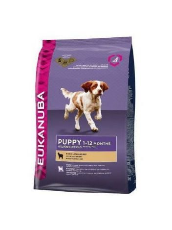 EUKANUBA PUPPY LAMB & RICE ALL BREEDS - 24KG (12KGx2)