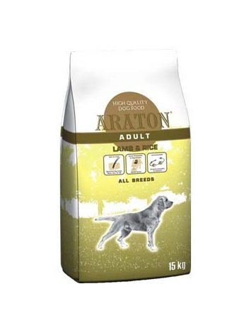 ARATON ADULT LAMB & RICE - 15KG