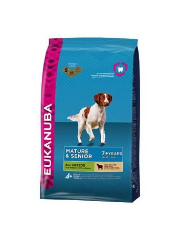 EUKANUBA MATURE/SENIOR LAMB & RICE - 12KG