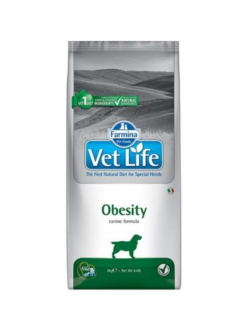 FARMINA VET LIFE OBESITY DOG - 12KG