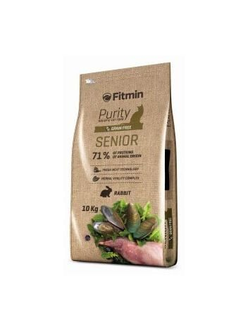 FITMIN CAT PURITY SENIOR - 1,5KG + ANIMONDA 200G GRATIS!
