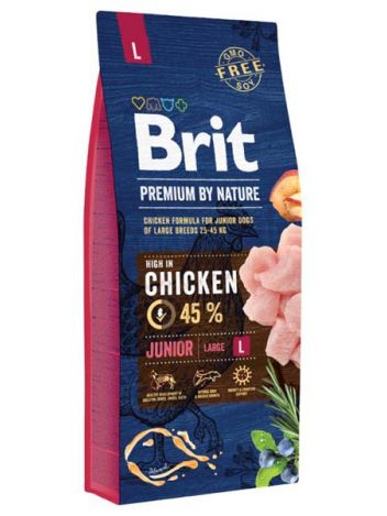 BRIT PREMIUM BY NATURE JUNIOR L - 30KG (15KGx2)