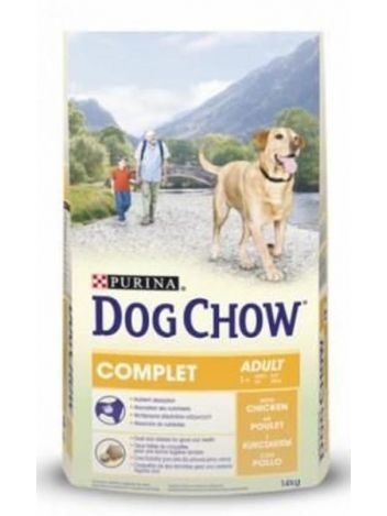 PURINA DOG CHOW ADULT COMPLET CHICKEN - 14KG