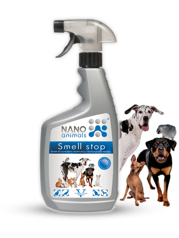 NANO ANIMALS SMELL STOP 650ML NEUTRALIZATOR ZAPACH