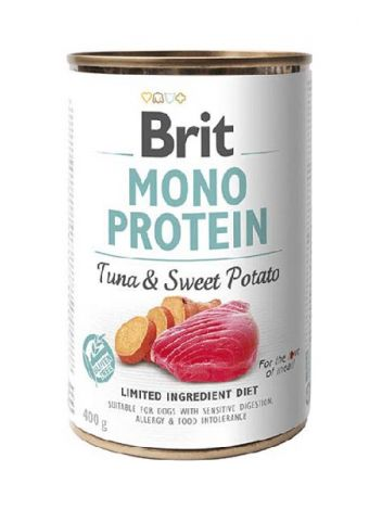 BRIT MONO PROTEIN TUNA & SWEET POTATO - 400G