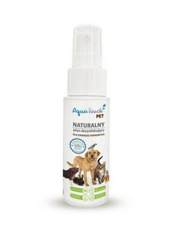 AQUATOUCH PET PLYN DEZYNFEKUJACY 50ML
