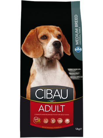 CIBAU ADULT MEDIUM - 12KG + 2KG