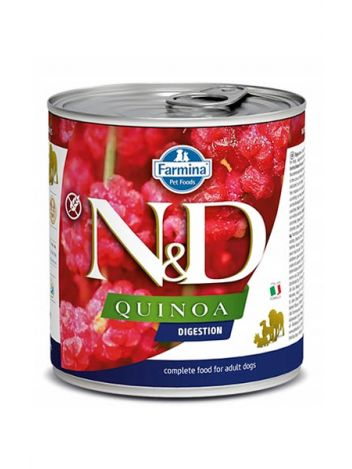 FARMINA N&D DOG QUINOA DIGESTION - 285G + 285G GRATIS!