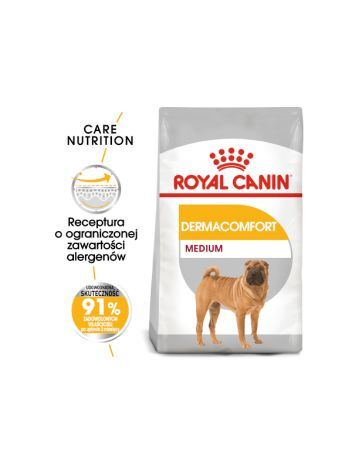 ROYAL CANIN MEDIUM DERMACOMFORT - 20KG (10KGx2)