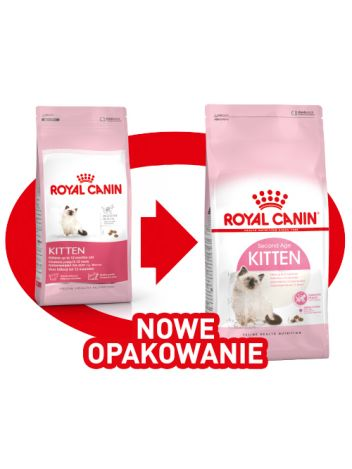 ROYAL CANIN KITTEN - 400G + 400G