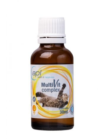 APL MULTIVIT COMPLEX CAT 30ML