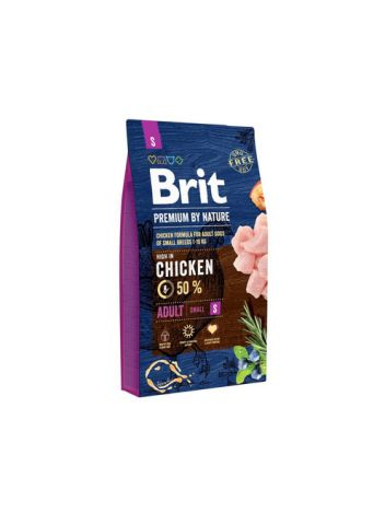 BRIT PREMIUM BY NATURE ADULT SMALL - 8KG