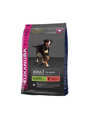 EUKANUBA ADULT SALMON & RICE - 24KG (12KGx2)
