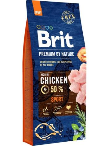 BRIT PREMIUM BY NATURE SPORT - 6KG (3KG+3KG)