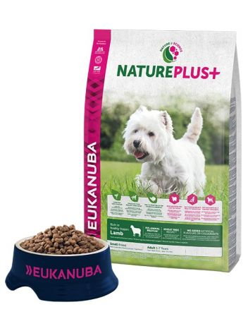 EUKANUBA NATURE PLUS ADULT SMALL LAMB - 28KG (14KGx2)