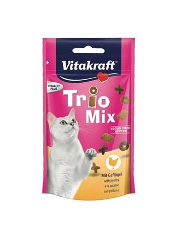VITAKRAFT TRIO MIX MIT DRÓB 60G
